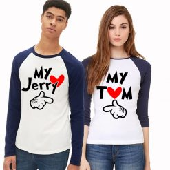 34664ef72d7 Couple T-shirts - New For 2019 - Unique Designs Buy Online India